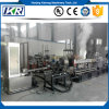 PE/ PP/ PC+ABS Engineering Plastic Granules Twin-Screw Extruder Fp180 PE Foam Recycling Granulating Machine