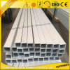 High Quality 6063-T5 Aluminium Extrusions Square Tubing