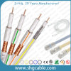 75 Ohms Sat501 Coaxial Cable for Satellite TV