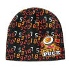 Full Printing and Embroidered Cut Warm Hat (JRK061)