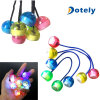 New LED Light up Finger Yo Yo Balls Toys Glow in The Dark