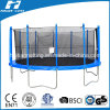 16ft Premium Trampoline with Safety Enclosure (HT-TP16)