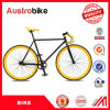Wholesale 700c Road Bike Stee Alloy Aluminum Blue Color Fixed Gear Bike Frame White Blue Color 26inch Fixed Bike Cheap for Sale