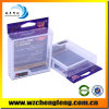 High Quality Clear Plastic Box with Hanger