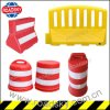 Flexible Anti-Impact Crowd Control Plastic Taffic Barrier