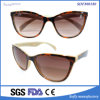 Fancy Designer Shades Brown Lens Plain Cat Eye Glasses