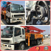 42m Rhd-8*4-Drive Euro3/Diesel-Engine Repaint 2007 Used Concrete-Delivery Isuzu-Chassis Sany-Pump Truck