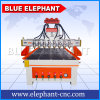 1325 Blue Elephant Multi Spindles Woodworking CNC Machines Wood Design Cutting Machine for Sale