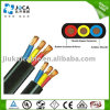 Multicore Rubber Sheath 3X6AWG Flat Submersible Pump Power Cable