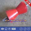 Customized Red Rubber Conveyor Rollers