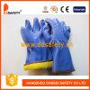 Ddsafety 2017 Blue PVC Sandy Finish Freezer Glove Safety Gloves