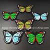 2017 Butterfly Embroidery Hotfix Patch Beaded Applique for Garment Accessories (E11)