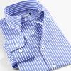 2016 Wholesalel Men′s Stripe Fashion Wear Office Work Dress Shirt