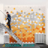Sound-Absorbing Wood Wool Acoustic Panel