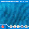 100% New HDPE Blue Construction Safety Sun Shade Net 96% Shade Rate