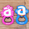 Newest Cute Design Soft PVC Bottle Opener
