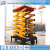 Mobile Truck-Mounted Scissor Lift Platform for Outdoor Maintaining