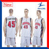 Healong Good Design Sportswear Sublimation Reversible Men′s Basketball Jerseys
