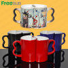 Freesub Sublimation Ceramic Color Changing Couple Magic Mug