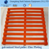 Heavy Duty Powder Coated CE Rackable Steel Pallet