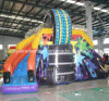 CE Inflatable Air Castle Tyre Slide for Customized