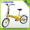 2015 Single Speed En15194 Folding Electric Bicycle