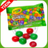 Color Your Mouth Dubble Bubble Assorted Christmas Sour Gumballs