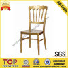 Hotel Golden Aluminum Wedding Napoleon Chair