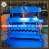 Glazed Tile Roofing Sheet Roll Forming Machine for Metal Corrugated Roof Panel Profile