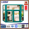 Balcony Glass Curtain Window with Double Glass