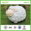 """14.5""""Cartoon Version Fluffy Sheep Sculpture for Garden Ornament (NF87137)"""