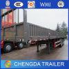 3 Axle 40t Dropside Curtain Side Wall Cargo Trailer