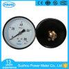 ISO Approved Dial 100mm Steel Case 80psi Back Pressure Gauge