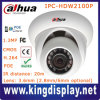 H. 264 Onvif Dahua 1.3megapixel CMOS HD Network IR Mini Dome Camera, IR Distance 20m (IPC-HDW2100)
