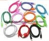 Fashionable Newest Colorful Kernmantle Rope Design Universal Micro USB Data Cable for Smartphone for Samsung for HTC