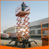 China Self-Propelled Manual Electric Scissor Lift with Competitive Price