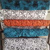 Flocking Velvet Ultra Soft Terry Velour Fabric for Furnitures