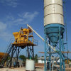 Stable Concrete Mixing Plant Skip Type, (HZS50) Concrete Mixer