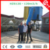 Hzs120 Wet Mix Concrete Batching Plant with Belt Conveyor