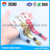 Festival Fabric Wristbands with Metal Ring