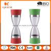 Hot Sale Hourglass Shape Manual Dual Salt and Pepper Grinder