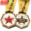 Wholesale Custom Two-Sided Award Medal Style with Enamel Colors