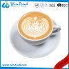 Wholesale Commercial White Porcelain Latte Coffee Cup and Saucer