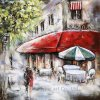 Reproduction Metal Oil Painting Wall Art for Home Decoration