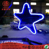 Neon Sign Multi-Color Star Christmas Pendant Light for Park Garden Decoartion