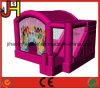 Custom Princess Inflatable Bouncer Castle with Slide