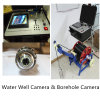 180 Degree Rotating Borewell Inspection Camera, Rotary Deep Well Camera, Borehole Camera