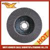 6′′ Calcination Oxide Flap Abrasive Discs (fiber glsaa cover 30*16mm)