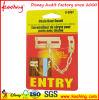 Custom Promotional Hard Paper PVC Rectangle Label Hang Tag