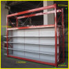 Supermarket Metal Shelf and Warehouse Rack Combination